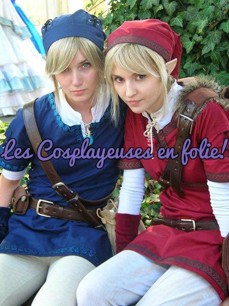 Les cosplayeuse en folie: là ou l'esprits des jeux prend le contrôle!!!
