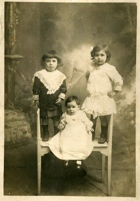 Ma grand-mère Rosalie et un voisin Lucien Cervera