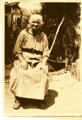 Mon arrière grand-mère née  à Cap Matifou