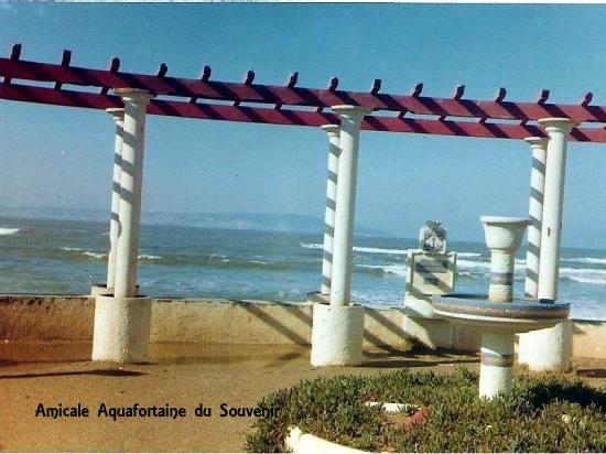 Alger-plage, c'était ici.
