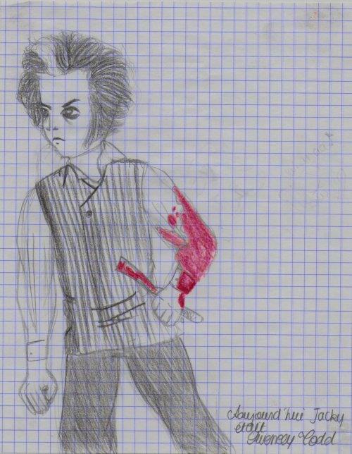 Exposition sur Tim Burton à a Cinémathèque Française.