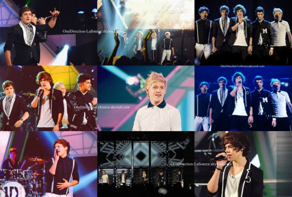 ○ Les One Direction au Kid's Choice Awards 2012.