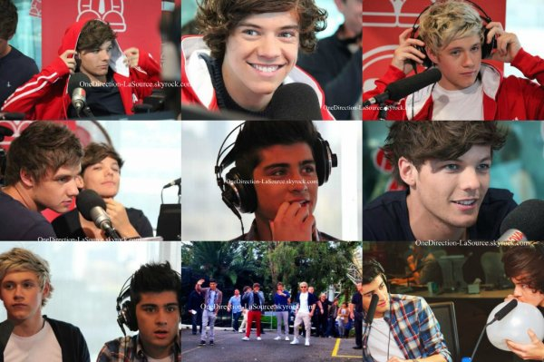 ○ Les One Direction en Australie, à Sydney.