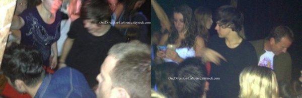 ○ Zayn et Harry, dans un Club à Sydney, en Australie.
