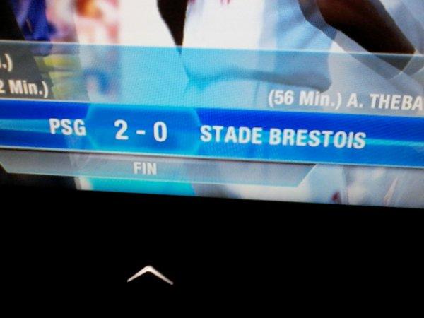 PSG - Brest, petite correction de Zlatan