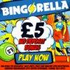 Free Fiver from Bingorella - No Deposit Required Bonus