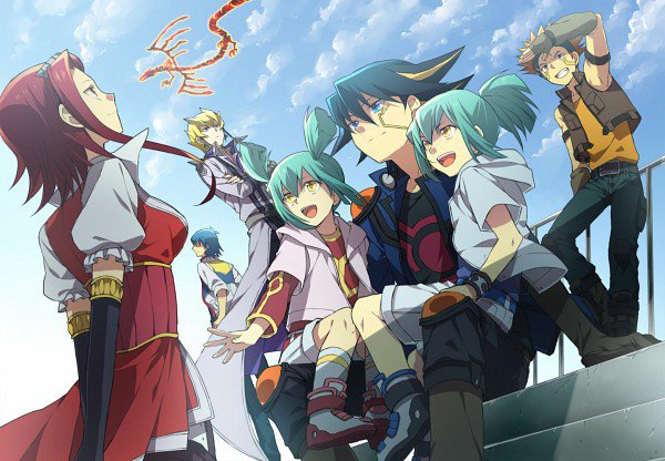♥ Yu Gi Oh 5D's l'histoire ♥