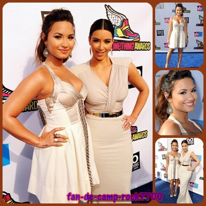 Demi Lovato a assister au VH1 Do Something Awards 2011 le 14 août 2011 .