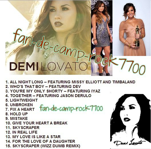 L'album de Demi !