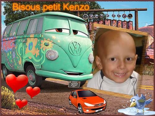 créations de Noelle pour Kenzo chéri