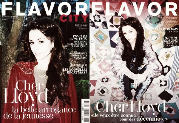 ...Cher sur la couverture du magazine Flavor City !...