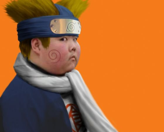 Cosplay Naruto trop jouliee *^*