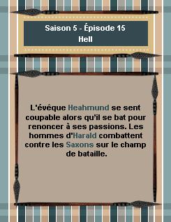 ------- Saison 5 - Épisode 15 : Hell------- ------- -Création- ↓  -Décoration- ↓ -Gifs- ↓ -Voir l'épisode- ↓  -Stills------