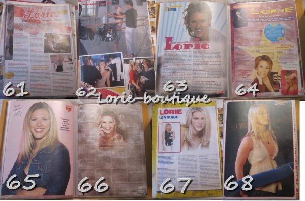 Nouvelle vente lorie/ Presse  0.15 CENTIMES L'UNITE