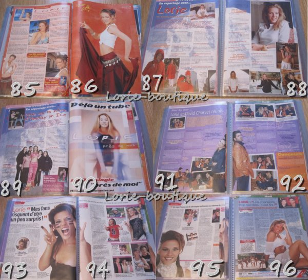 Nouvelle vente lorie/ Presse page 2   /  0.15 CENTIMES L'UNITE