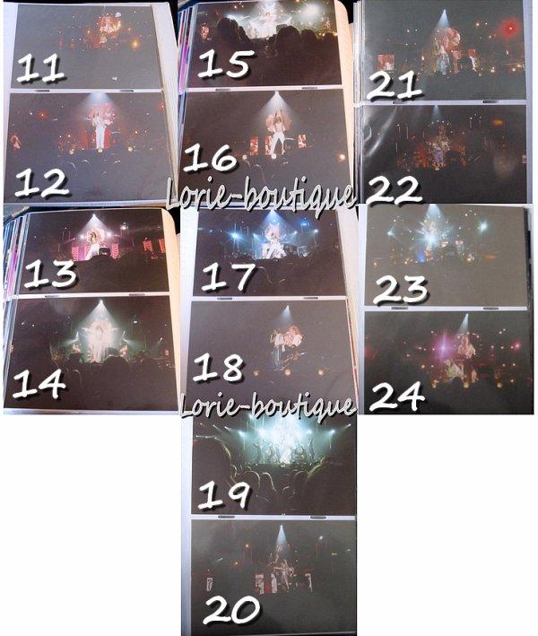 Nouvelle vente / photos de concert Week end tour 2004  / 1 EUROS L'unite