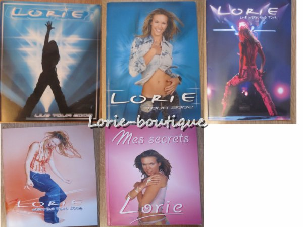 Nouvelle vente /Magazines/ Pochette elastiques / Newsletter du fan club/ Programme et livre