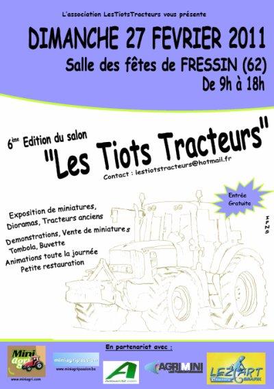 """Exposition """"Les Tiots Tracteurs 2011"""" a Fressin ......"""