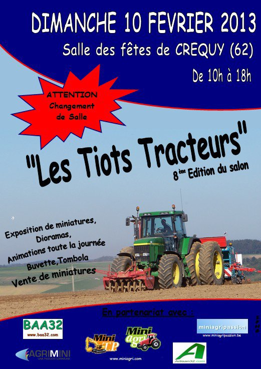 Exposition Les Tiots Tracteurs 2013
