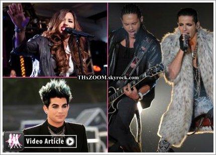 Celebrity-gossip.net  Tokio Hotel, Demi Lovato & Adam Lambert : GAGNANTS DES OMA ! ______________(Traduction par Mahana pour Tokio Hotel : Le journal des fans.)