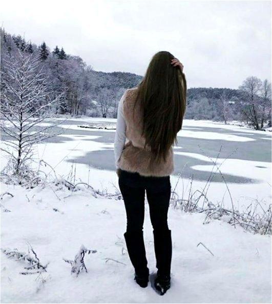 La blancheur de la neige