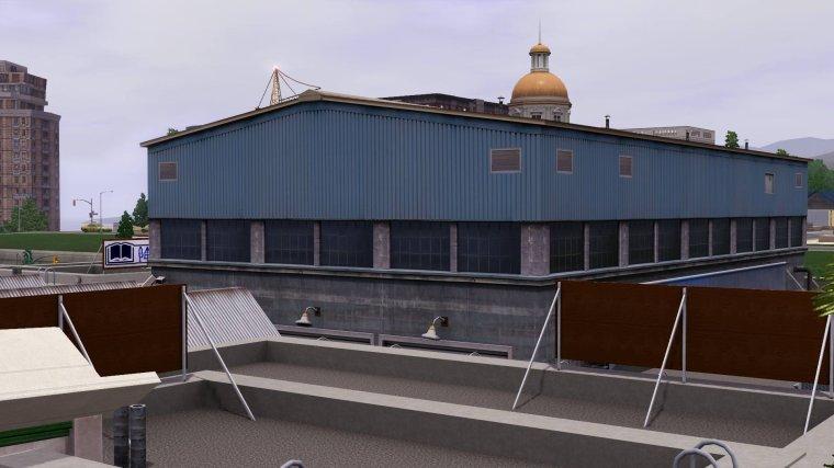 Entrepôt ou le plateau sera construit !