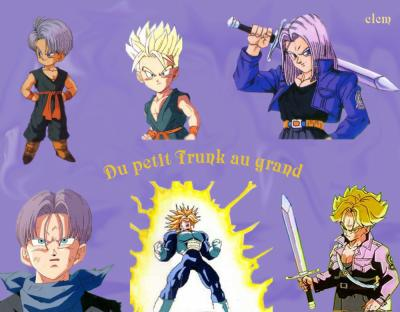 Trunk L Univers De Dragon Ball Z