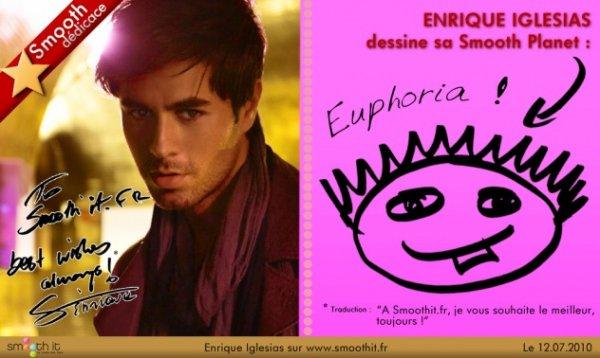 Smooth Dédicasse d' Enrique Iglesias!