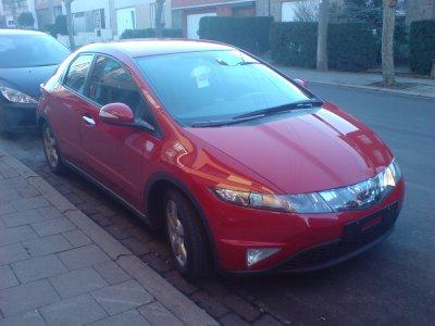 ma nouvel voiture en fevrier 2008