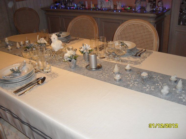 Nouvel an 1 deco de table blog de nathy170268 - Deco de table nouvel an ...