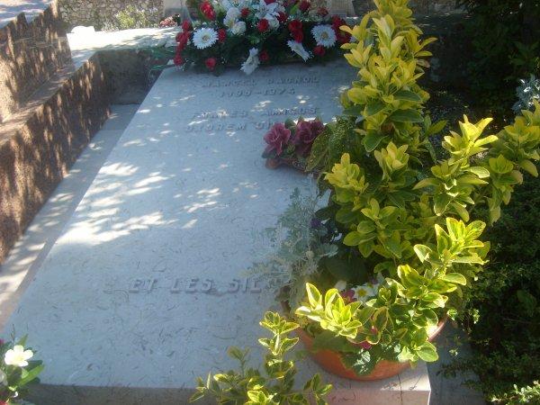 La tombe de Marcel Pagnol
