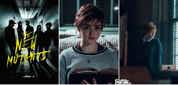 04/02/20 ─ THE NEW MUTANTS POSTER AND STILLS
