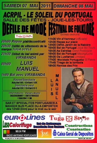 NOTRE 6ème FESTIVAL DE FOLKLORE SAMEDI 7 ET DIMANCHE 8 MAI 2011