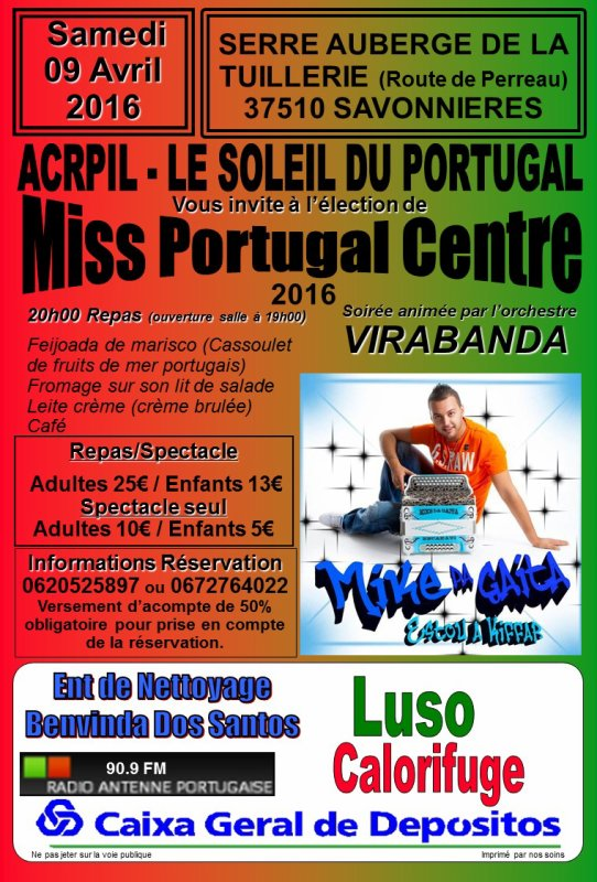 ELECTION MISS PORTUGAL CENTRE 2016
