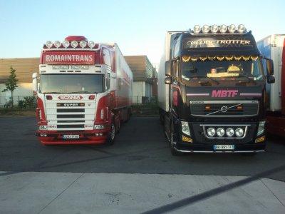 volvo vs scania - un camion éxcéption!!