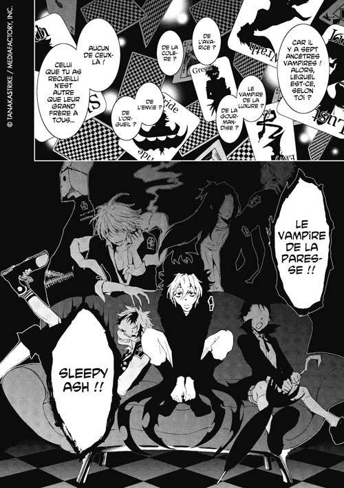 ^^Les quelques planches du Manga Servamp^^