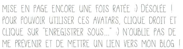 #Pack d'avatars n°2