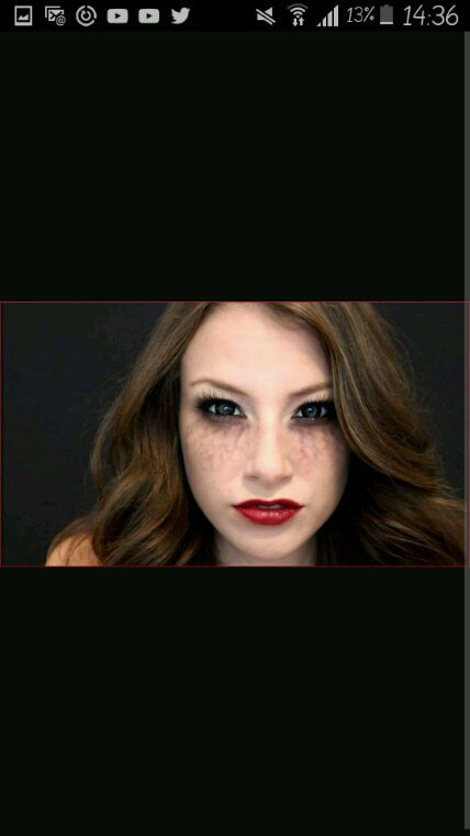 Makeup halloween : vampire