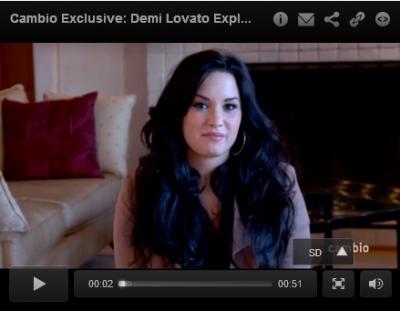 Demi Lovato : Son Nouveau tatouage , explication en vidéo!!