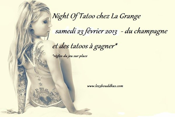 NIGHT OF TATOO