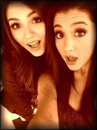 Victoria Justice et Ariana Grande