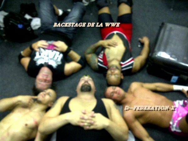 BACKSTAGE DE LA WWE.