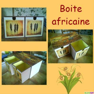 boite africaine
