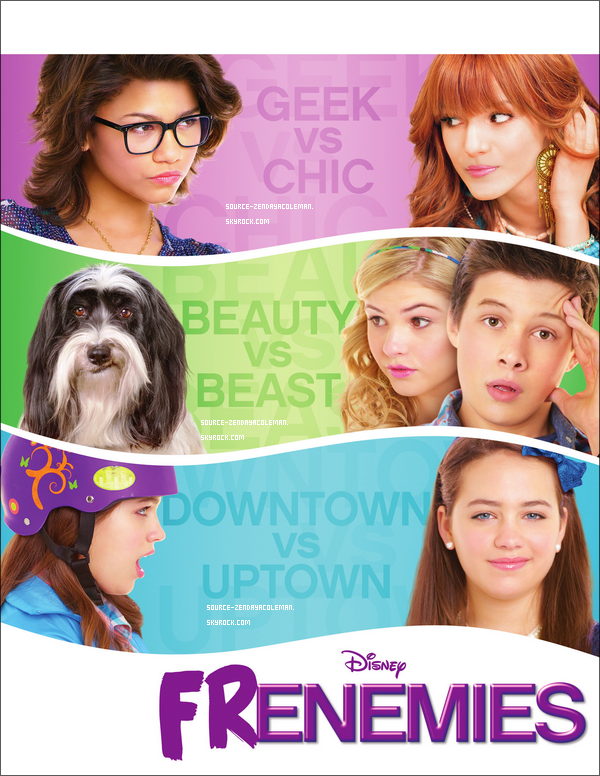 FRENEMIES,le premier Disney Original Channel Zendaya
