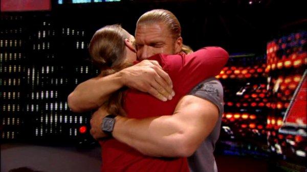 Triple h et Shawn Michaels