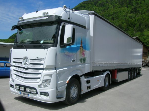 Mercedes Actros MP4 stbj