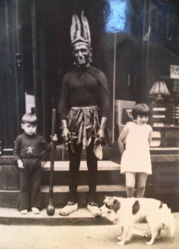 En 1936 - avec Yvette et Georges Barbaix
