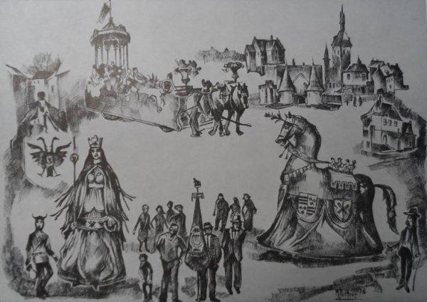¼uvre de Maurice Peletier - 1976