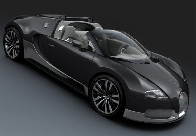 Bugatti EB 16/4 Veyron Grand Sport Grey Carbon (2010)