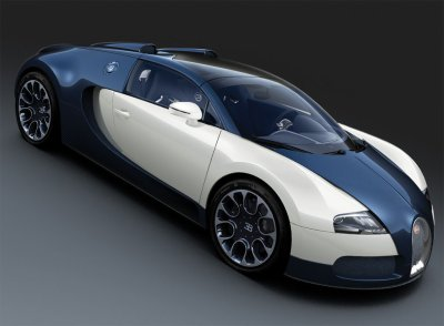 Bugatti EB 16/4 Veyron Grand Sport Royal Dark Blue (2010)